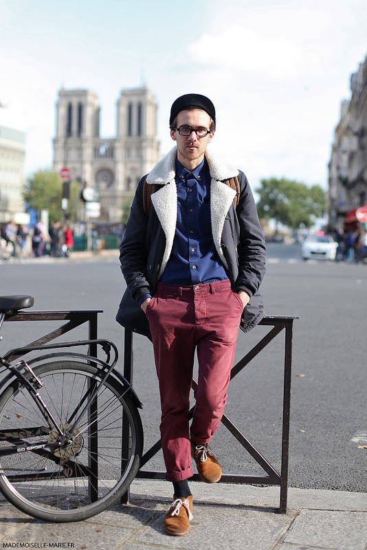 Street style Dopy, Paris