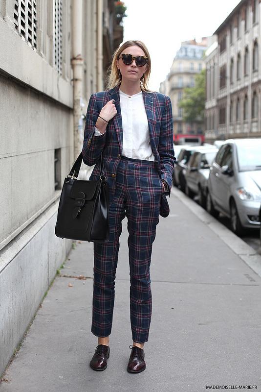 Tartan girl, Paris