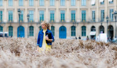 Street style Mathilde Margail - Paris Fashion Week Haute Couture FW16-17 (2)