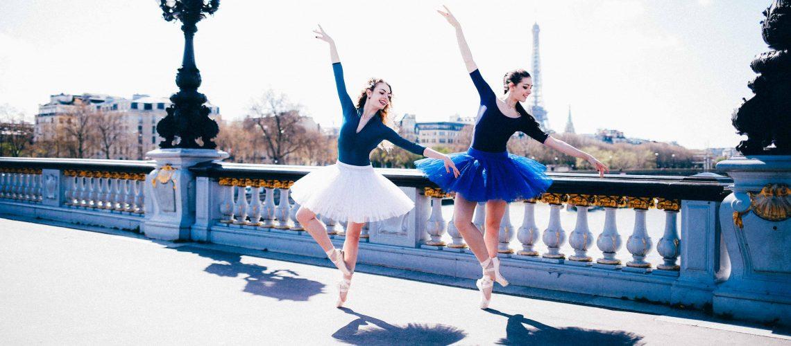 Shooting danseuses classique de ballet, Paris