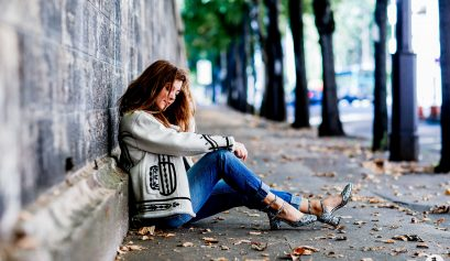 Shooting de blogueuse, street style, Paris