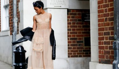 Street style, Selah Marley arriving at Simone Rocha Spring-Summer 2018 show held at Middle Temple, in London, England, on September 16th, 2017. Photo by Marie-Paola Bertrand-Hillion/ABACAPRESS.COM